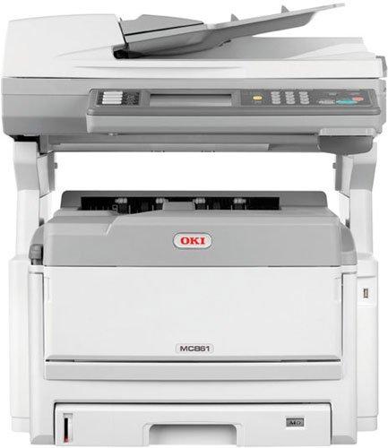 OKI MC851DN - Impresora multifunción (Laser, Color, Color, Color ...