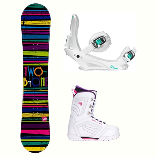 o Womens Complete Snowboard Package - 140cm/9.0 ()