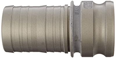 "Dixon Valve 300-E-ALH Aluminum Hard Coat Boss-Lock Type E Cam and Groove Fitting, 3"" Male Coupling x 3"" Hose ID Barbed"