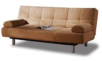 brand new atherton home manhattan convertible futon sofa bed and lounger khaki amazon    brand new atherton home manhattan convertible futon      rh   amazon