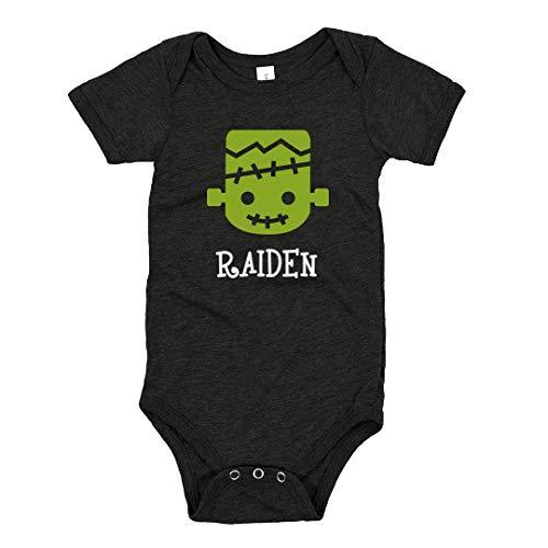 Halloween Monster Raiden: Infant Triblend Onesies