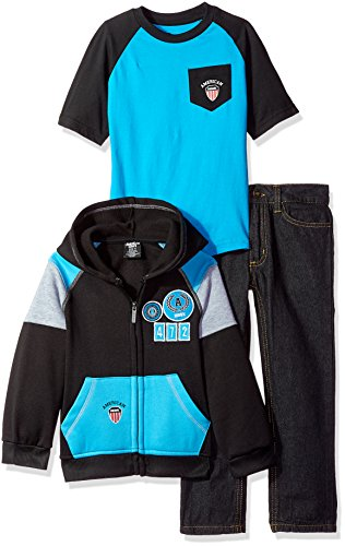 American Hawk Boys Jacket, T-Shirt and Pant Set (More Styles Available)
