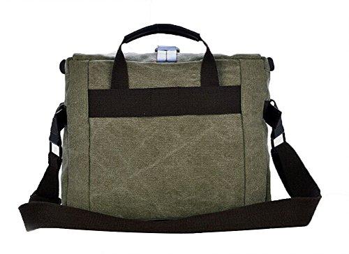 Genda 2Archer Protección de la cámara SLR bolsa de mensajero de Crossbody del bolso del hombro MJH-1179 (café) Ejercito Verde