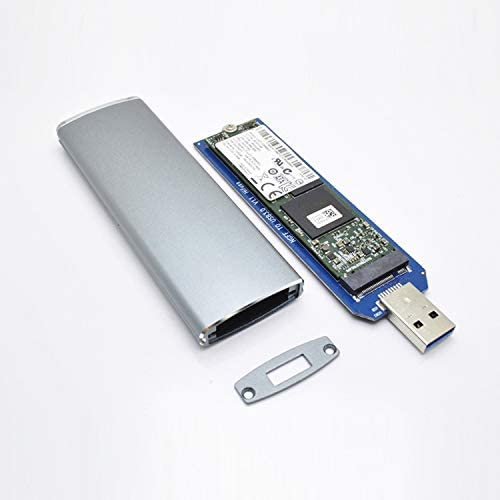 HUFAN M.2 NGFF SSD to USB 3.0 Solid State Drive Conversion Box Hard Drive Accessorie
