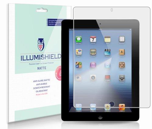 iLLumiShield - Apple iPad 4 with Retina Display Anti-Glare
