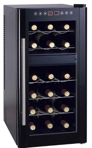18 bottle Dual Zone Thermo Electric Cooler Heating