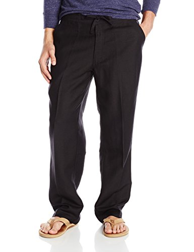 Classic Black Drawstring Pants - 5