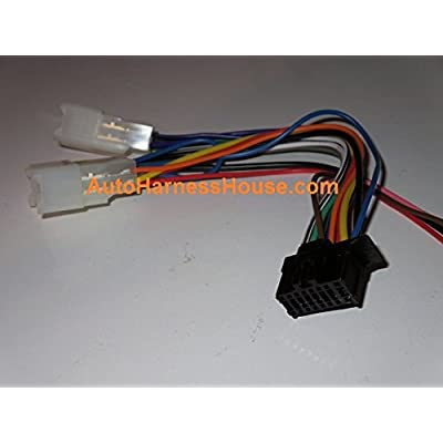 Direct Wire Harness for Pioneer Headunits (fits Toyota and Subaru): Car Electronics
