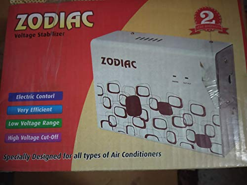 Zodiac 4 KVA Voltage Stabilizer for Split/Inverter AC Upto 1.5 Ton AC  100% Copper