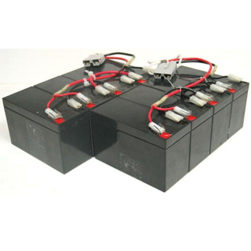 RBC12 UPS Computer Power Backup System Complete Replacement Battery Kit by Chrome Battery
