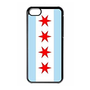 TYHde Run horse store - Just for You, Chicago Flag picture for black plastic iphone 6 plus 5.5 case ending