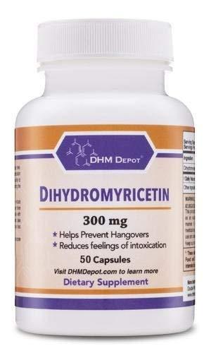 Dihydromyricetin (DHM) 50 Capsules, 300mg