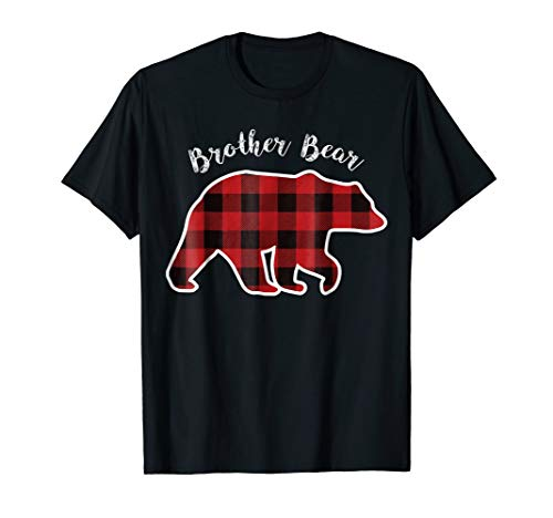 BROTHER BEAR | Men Red Plaid Christmas Pajama Family Gift