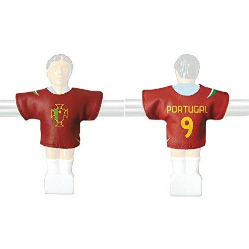 Kicker-Trikot Tischfussball Zubehör Trikot-Set Portugal