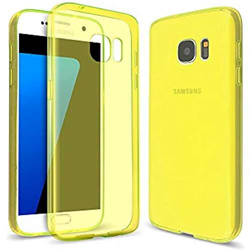 Arbalest Samsung Galaxy S7 Case, TPU Slim Soft Skin Perfect Fit Transparent Cover Gel Case - Lime Sales
