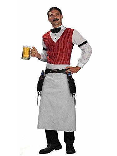 Forum Western Bartender Deluxe Costume Multi, Standard -