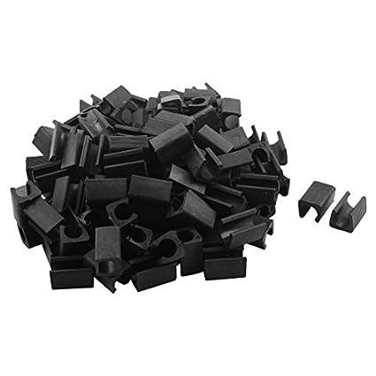 Amazon.com: eDealMax Silla de plástico Mueble de casa Tubo Pie Tacos ...
