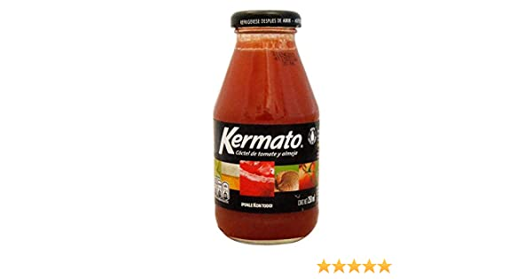 Kermato - Cóctel de tomate y almeja: Amazon.es: Alimentación y bebidas