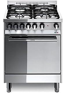 Lofra M66MF/C Cucina a Gas, Acciaio: Amazon.it: Grandi elettrodomestici