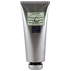 I Coloniali Softening Shaving Cream with Rhubarb 3.3 Ounce