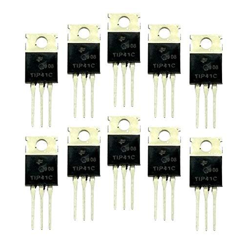 10個セット TIP41C トランジスタ 100V 6A NPNトライオード パワーアンプ