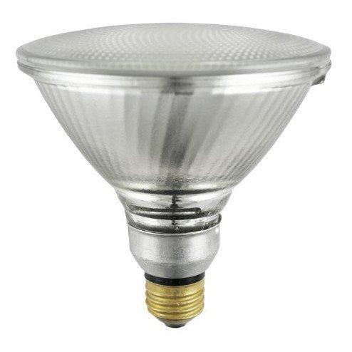 (Sylvania 14577 (6-Pack) 90-Watt Capsylite PAR38 Flood Light Halogen Reflector Light Bulb, 2925K, 1300 Lumens, E26 Base)
