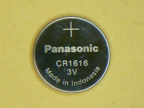 8x Panasonic Battery - CR1616 3V 3 Volt Lithium Coin Size Battery by Panasonic