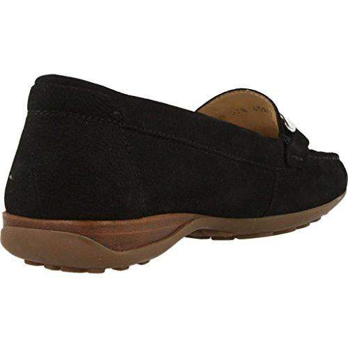Mocasines para mujer, color Negro , marca GEOX, modelo Mocasines Para Mujer GEOX D EURO D Negro Negro