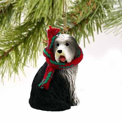 - Bearded Collie Miniature Dog Ornament