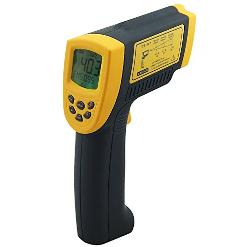 Digital infrared thermometer -18~1350C (-58~2282F) AR872+ IR Laser Point Gun non contact Infrared Thermometer