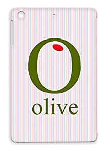 Olive Yellow Green Nature Animals Nature Oval Protective Case For Ipad Mini