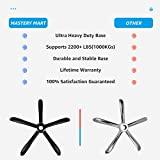 Mastery Mart Office Chair Base Replacement, 28 Inch