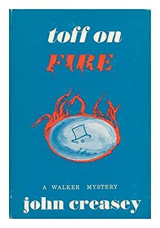 book cover of The Toff on Fire