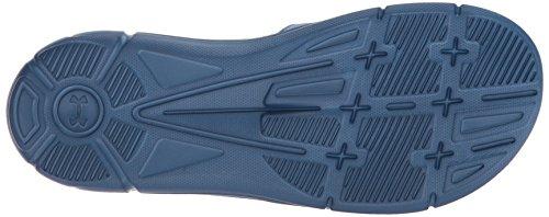 Under Armour Mens Ignite Breaker V Slide Sneaker Moroccan Blue/Neon Coral/Mediterranean tPJR2QO