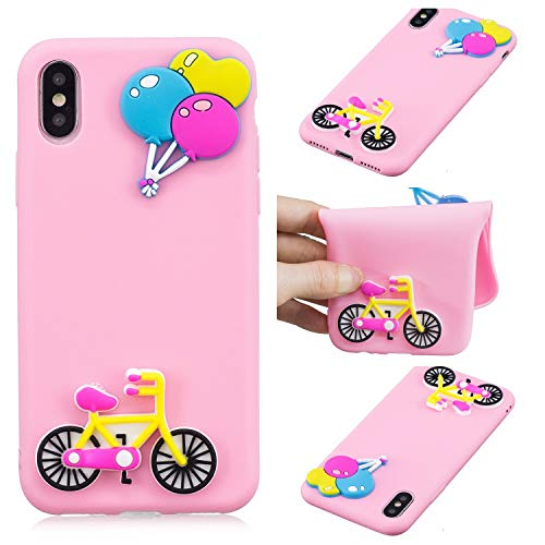Used, BEESCLOVER for iPhone X Cute Candy Color Soft Silica for sale  Delivered anywhere in USA