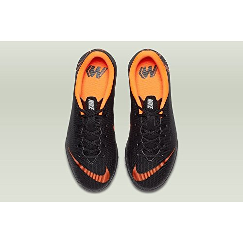 Academy Total Jr Deporte 081 TF w Unisex Vaporx Black Adulto Multicolor Zapatillas GS Orange NIKE 12 de T4OqxwtT