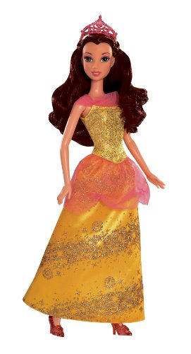 Mattel Belle Doll - Disney Princess Sparkling Princess Belle Doll - 2012