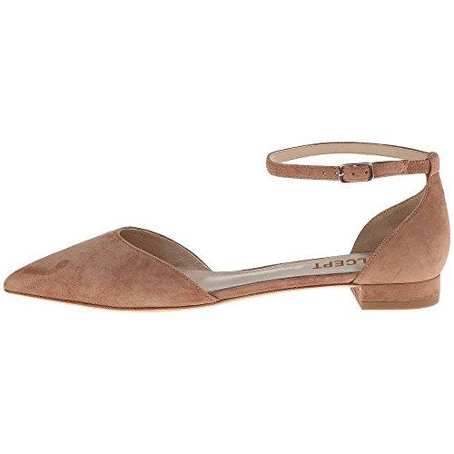 Coolcept Kvinnor Mode Mocka Flats Sandaler Ankelbandet Damer Klänning Sommarskor Ljusbrun