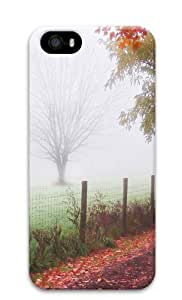 Foggy day Polycarbonate Hard Case Cover for iPhone 5/5S
