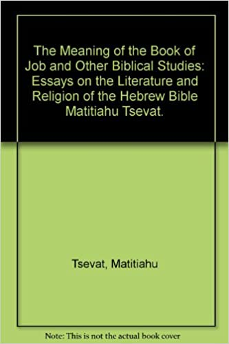 com the meaning of the book of job and other biblical  com the meaning of the book of job and other biblical studies essays on the literature and religion of the hebrew bible 9780870687143 matitiahu