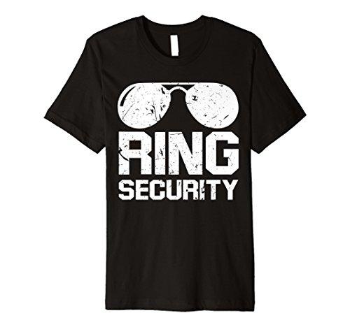 Ring Security Shirt Ring Bearer T-Shirt Boys Wedding Party