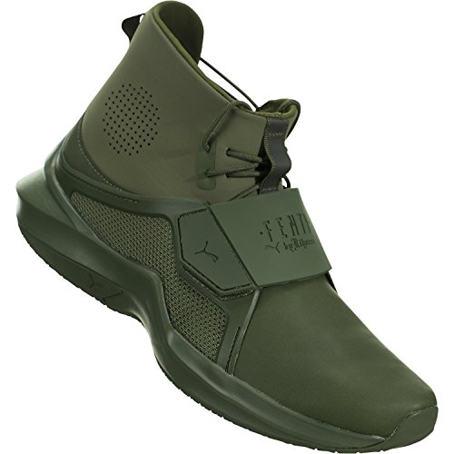 PUMA Damen FENTY X PUMA High Top Trainer Sneaker Grün