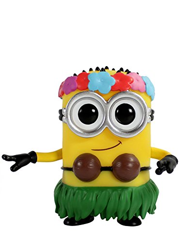 Funko POP Movies: Despicable Me 2 - Hula Minion Action -