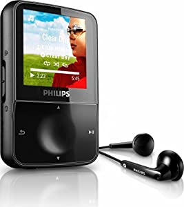 Amazon.com: Philips GoGear Vibe 4 GB MP3 Video Player with