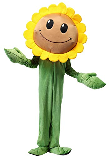 Plants Vs. Zombies Kids Sunflower Costume X-Large]()
