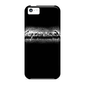 JohnPrimeauMaurice Iphone 5c Shock-Absorbing Hard Cell-phone Case Unique Design Vivid Metallica Image [cRY16378jKpx]