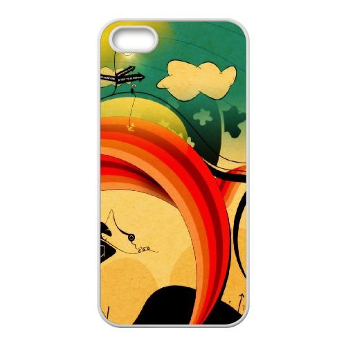 Sunset L coque iPhone 4 4s cellulaire cas coque de téléphone cas blanche couverture de téléphone portable EEECBCAAN05625