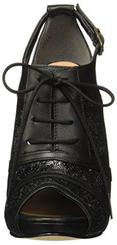 Negro 2361444 Mujer Zapatos para Abierta con Andrea Tacón de Punta Fw7Unzqd