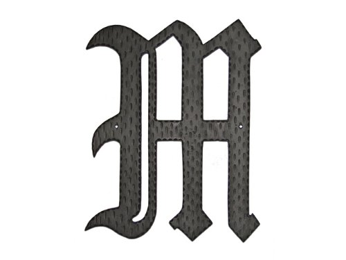 Montague Metal Products Home Accent Monogram, M, 16-Inch