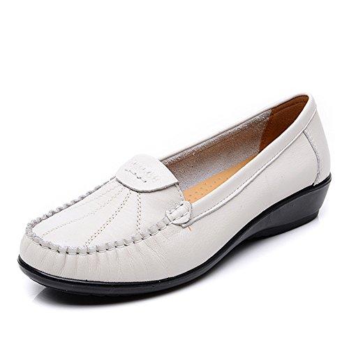 zapatos asakuchi madre/Mitad inferior suave y talla de las mujeres de edad/Zapatos de tacón plano D